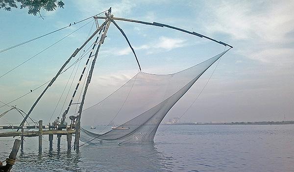 Chinese Fishing Net, India, Kochi, uasatish, Kerala,