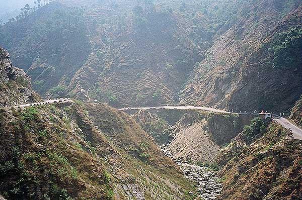 India, uasatish, Dalhousie, Pathankhot, Himachal Pradesh, road,