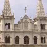 India, Kochi, Kerala, Santa Cruz Basilica, uasatish; outdoor; architecture;, Fort Kochi;