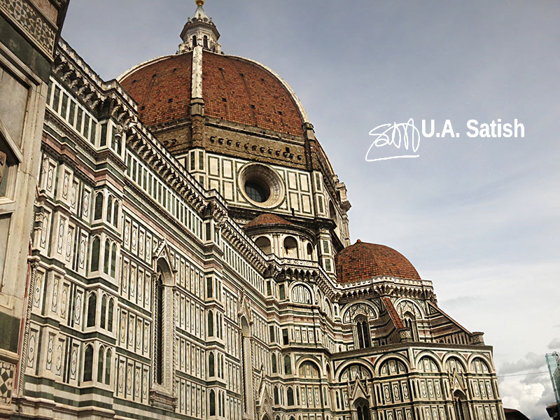 Florence Cathedral; Santa Maria del Fiore; Florence; Italy; architecture; outdoor; uasatish;