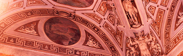 Vatican Museums; Vatican City; Rome; Italy; uasatish; museums; painted ceiling;