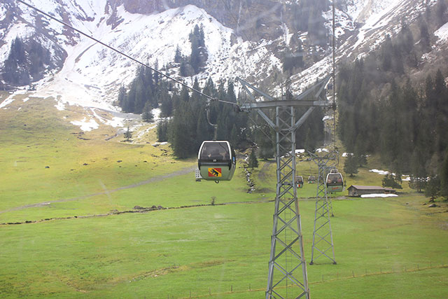 Mount Titlis; Switzerland; alps; outdoor; mountain; cable cars; snow; uasatish;