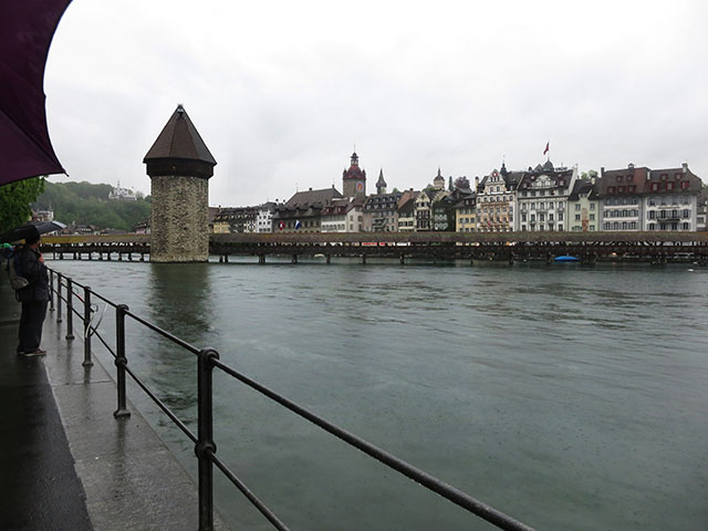 Chapel Bridge; Kapellbrücke; Lucerne; Switzerland; bridge; river; outdoor; uasatish; River Reuss;