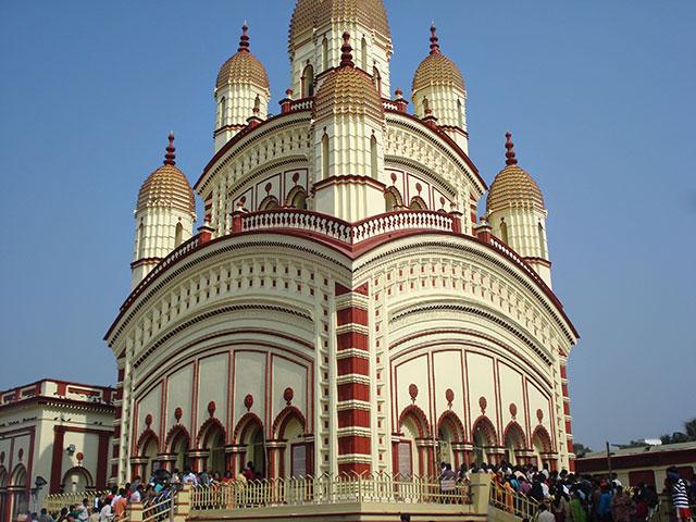 Dakshineswar Temple; Kolkata; Calcutta; India; temple; architecture; outdoor; uasatish;