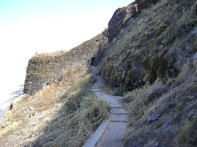 Sinhagad Fort; Thoptewadi; Maharashtra; India; fort; outdoor; uasatish;