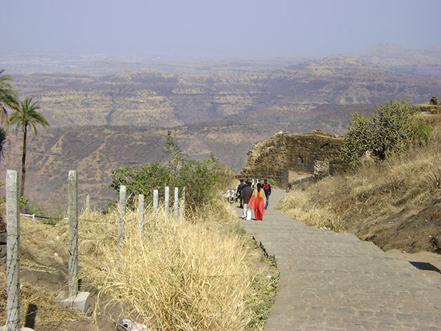 Sinhagad Fort; Thoptewadi; Maharashtra; India; fort; outdoor; uasatish; mountains;