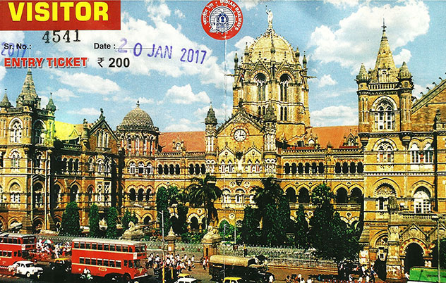 Mumbai CST; Mumbai; entry ticket; uasatish; India; heritage tour;