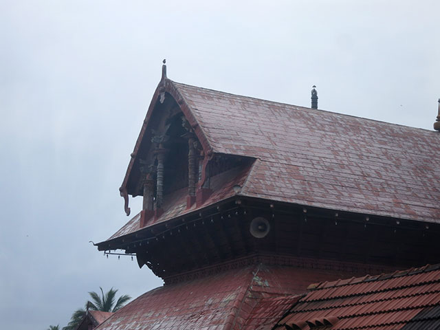 Sree Ramaswamy Temple; Thiruvangad Temple: Thalassery; Kerala; India; architecture; outdoor; uasatish; building; Thiruvangad; roof;