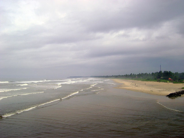 Payyambalam Beach; Kannur; Kerala; India; sand; sea; sky; outdoor; uasatish;
