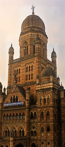 BMC Headquarters Building; Mumbai; architecture; India; heritage building; outdoor; uasatish;