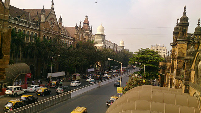 DN Road; Mumbai; India; Bombay; outdoor; uasatish; Mumbai CST Area;