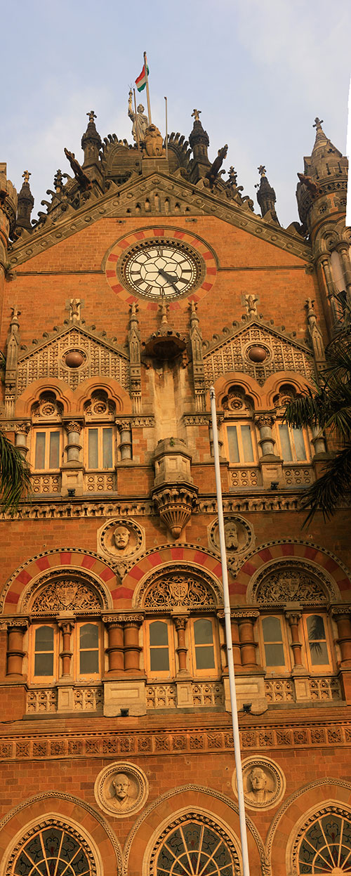 Mumbai CST; Mumbai; India; architecture; outdoor; Bombay; uasatish; building;