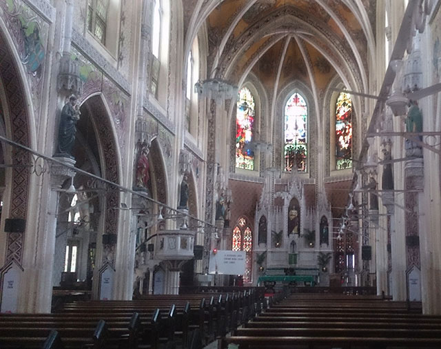 Cathedral of the Holy Name; Colaba; Mumbai; India; heritage building; Gothic Architecture; indoor; uasatish;