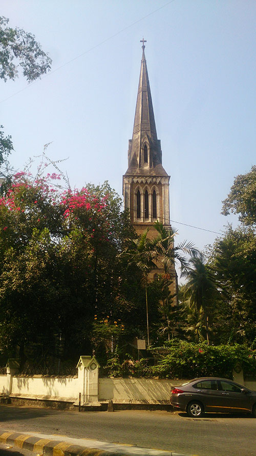 Afghan Church; Colaba; Mumbai; India; Bombay; church; heritage structure; Gothic architecture; outdoor; uasatish;