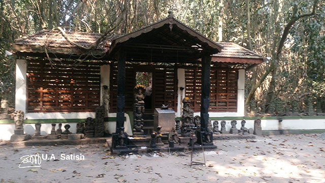 Mannarasala Temple; Haripad; Kerala; India; temple; building; outdoor; uasatish;