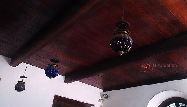 Arakkal Palace; Arakkal Museum; Kannur; Kerala; India; uasatish; teak ceiling;