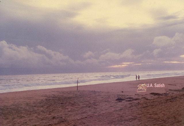 Shangumugham Beach; Thiruvananthapuram; beach; sea; sand; sky; uasatish; Kerala; India;