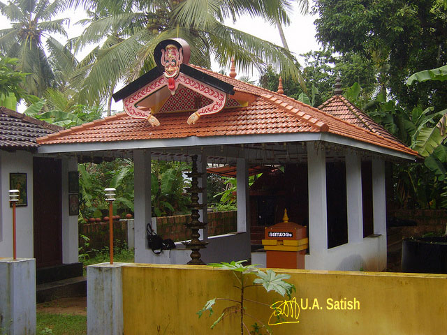 temple; India; architecture; uasatish; Ambalavattam Temple; Thalassery; Kerala;