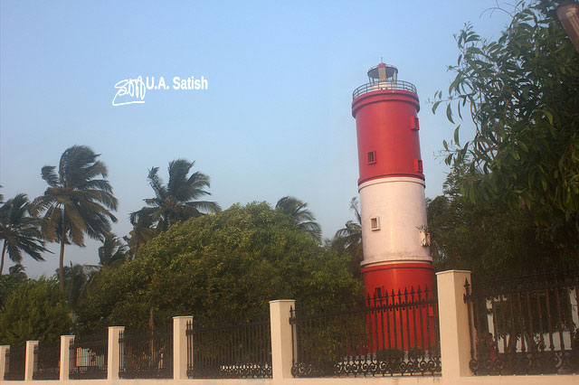 Kannur; Ketala; India; light house; uasatish;