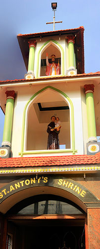 St. Antony's Shrine; Kannur; Kerala; India; shrine; uasatish;