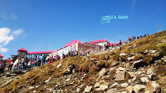 Nathula Pass; Sikkim; India; barracks; uasatish;