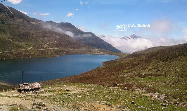 Elephant Lake; Kupup Lake; Sikkim; India; uasatish;