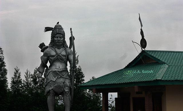 Kirateshwar Statue; temple complex; Namchi; Sikkim; India; uasatish