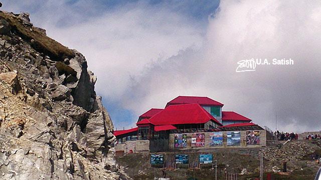 Nathula Pass; Sikkim; India; uasatish; barracks; Indo-Chinese Border;