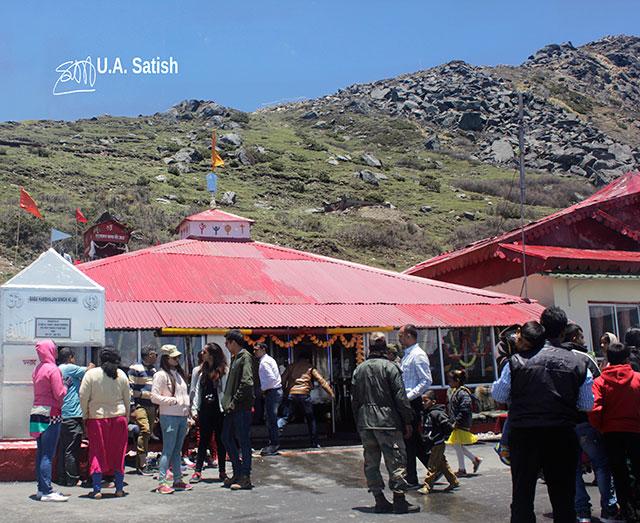 Baba Mandir; Baba Harbhajan Singh; Kupup; Sikkim; India; uasatish;