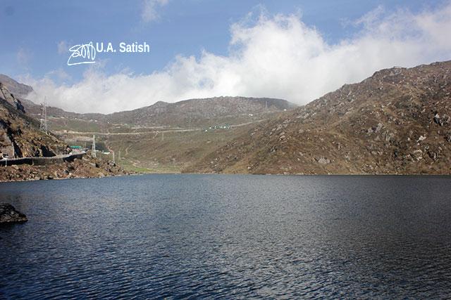 Tsongmo Lake; Changu Lake; Sikkim; India; uasatish; lake;