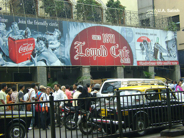 Leopold Cafe; Mumbai; India; uasatish; South Mumbai; cafe;