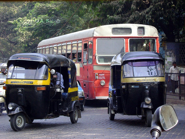 Autorickshaws; Mumbai; India; Andheri; uasatish;