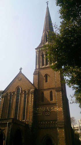 Afghan Church; Mumbai; India; Navy Nagar; uasatish; church;