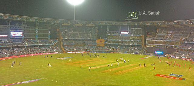cricket; Mumbai; India; Wankhede Stadium; uasatish; IPL match;