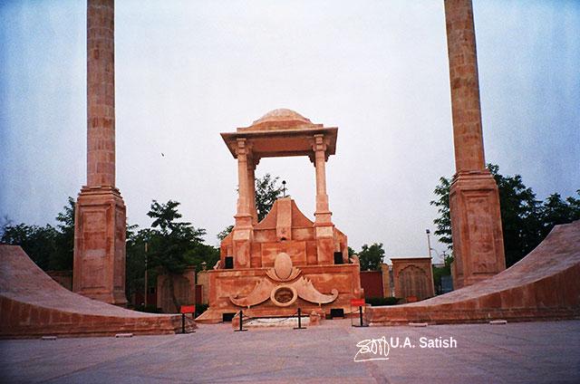 Jaipur; India; Rajasthan; building; architecture; uasatish; Amar Jawan Jyoti;