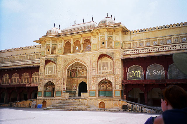 Jaipur; India; Rajasthan; building; architecture; uasatish; City Palace;