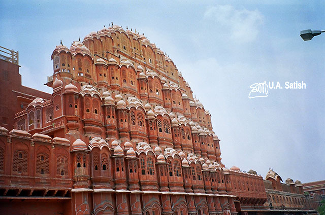 Hawa Mahal; Jaipur; India; Rajasthan; building; architecture; uasatish;