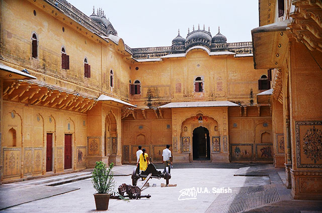 Jaipur; India; Rajasthan; building; architecture; uasatish; Nahargarh Fort;