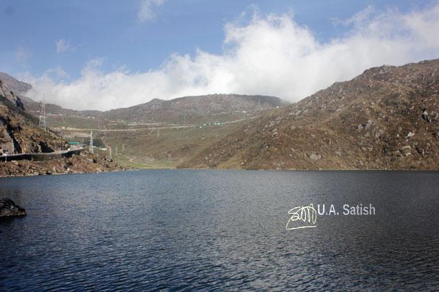 Sikkim; India; lake; Changu Lake; hills; sky; uasatish;