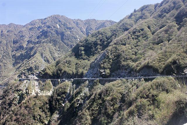 Sikkim; India; road; mountain; sky; uasatish;
