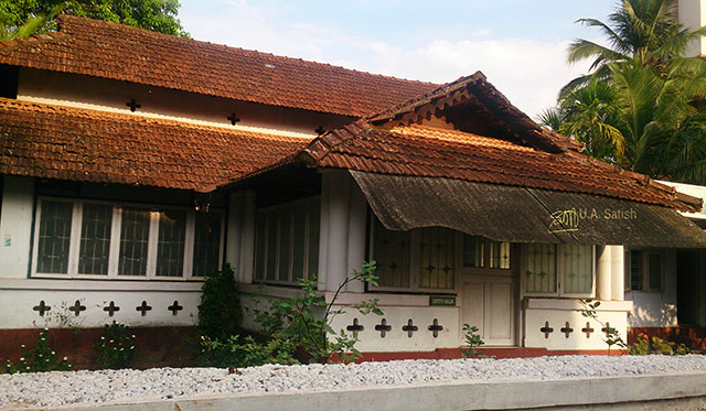 Kerala; Kannur; Letty Villa; building; India; uasatish;