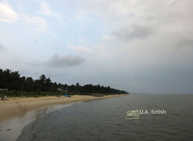 Kappad Beach; beach; Kozhikode; Calicut; Kerala; India; sea; sand; trees; sky; uasatish;