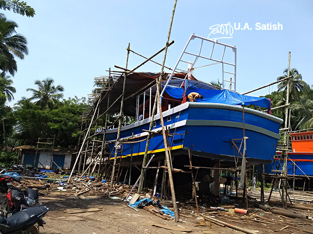 Fishing Boat; Beypore; Calicut; Kerala; India; uasatish;