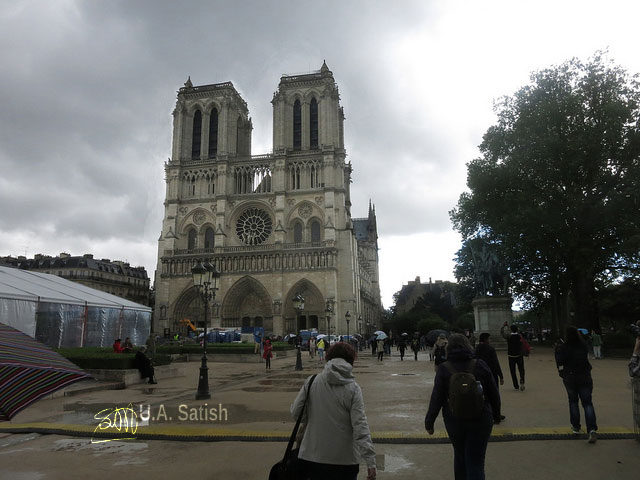Notre Dame Cathedral; Paris; France; church; travel; architecture; uasatish;