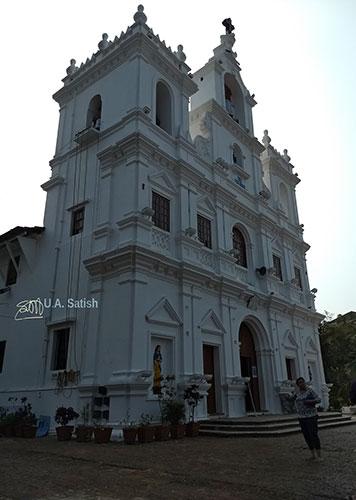 Church of Immaculate Conception; Panjim; Goa; India; church; uasatish;