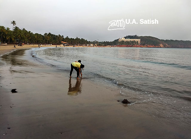 Bogmalo Beach; Goa; Bogmalo; India; sea; sand; sky; uasatish; beach;