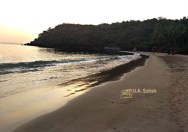 Bogmalo Beach; Goa; Bogmalo; India; sea; sand; sky; uasatish; trees;