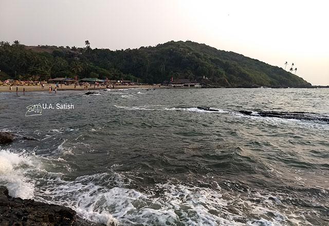 Ozran Beach; Goa; India; Little Vagator; uasatish; beach;