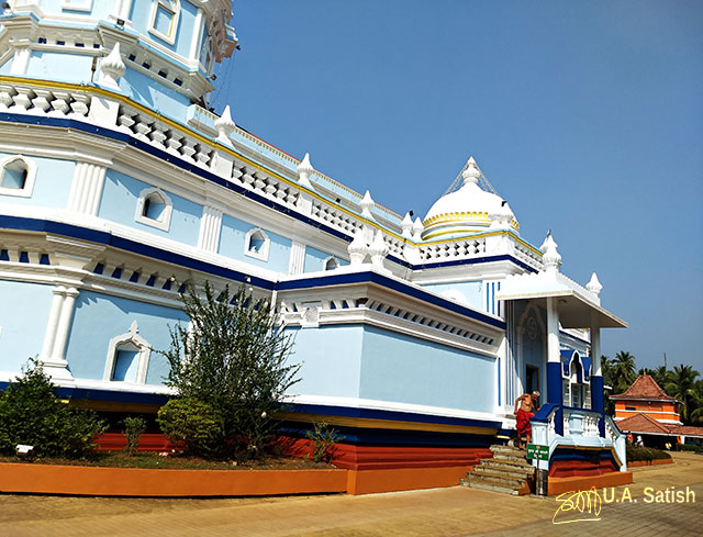 Mangeshi Temple; Goa; Lord Shiva; temple; uasatish;