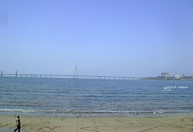 uasatish, India, Mumbai, Bandra Sea Link, Bombay, uasatish.com